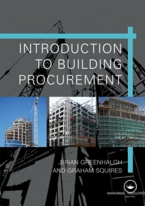 Book Cover: Introduction to Building Procurement