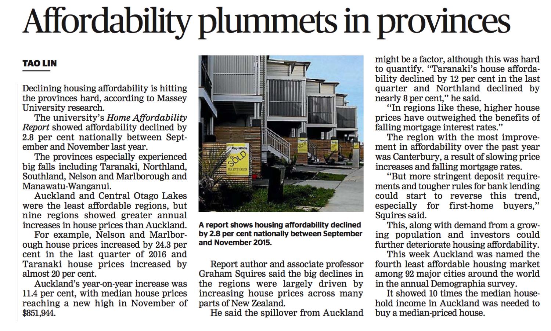 Housing Affordability_Jan 2017
