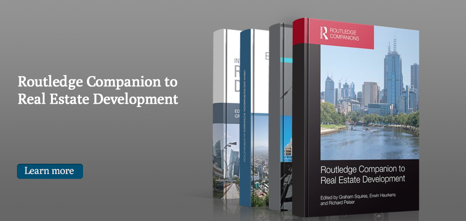 My New Edited Book - Routledge Companion to Real Estate Development