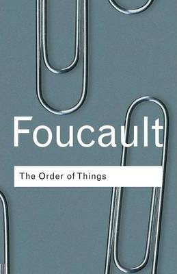 Influential books #75 The order of things by Michel Foucault