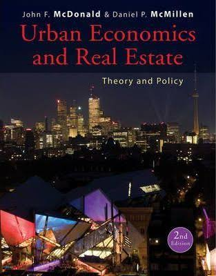 Influential books #80 Urban Economics and Real Estate by John McDonald and Daniel McMillen