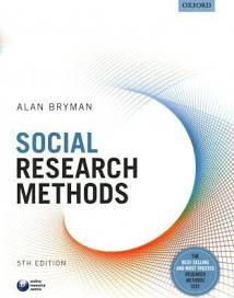 Influential books #84 Social research methods by Alan Bryman