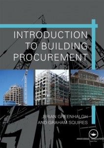 Influential books #98 Building Procurement by Brian Greenhalgh and Graham Squires